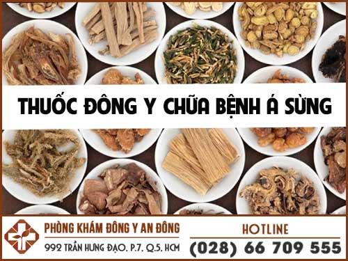 chua benh a sung bang dong y