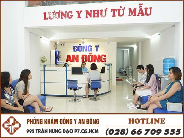 dau lung kham o đong y an dong
