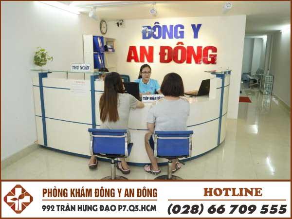 Phong kham dong y an dong co so chua benh uy tin hang dau tai hcm