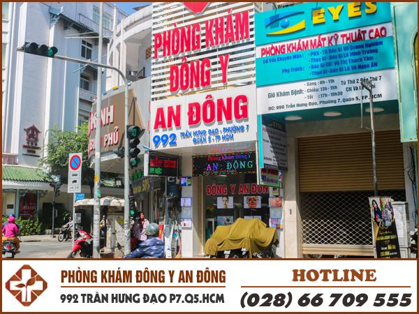 phong kham dong y an dong chua sui mao ga tai tp hcm