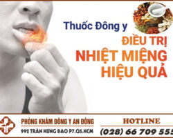 thuoc dong y chua nhiet mieng